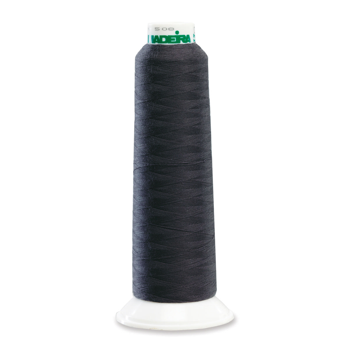 POLY CHARCOAL 2000YD SERGER THREAD MADEIRA AEROLOCK