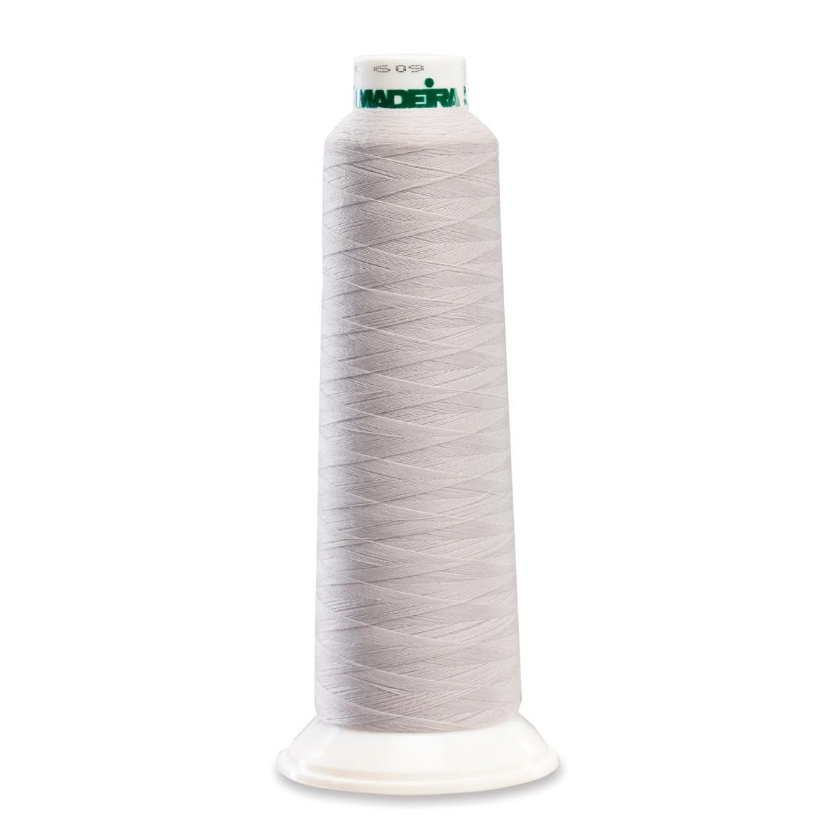 8686 Silver Poly Serger Thread Madeira Aerolock