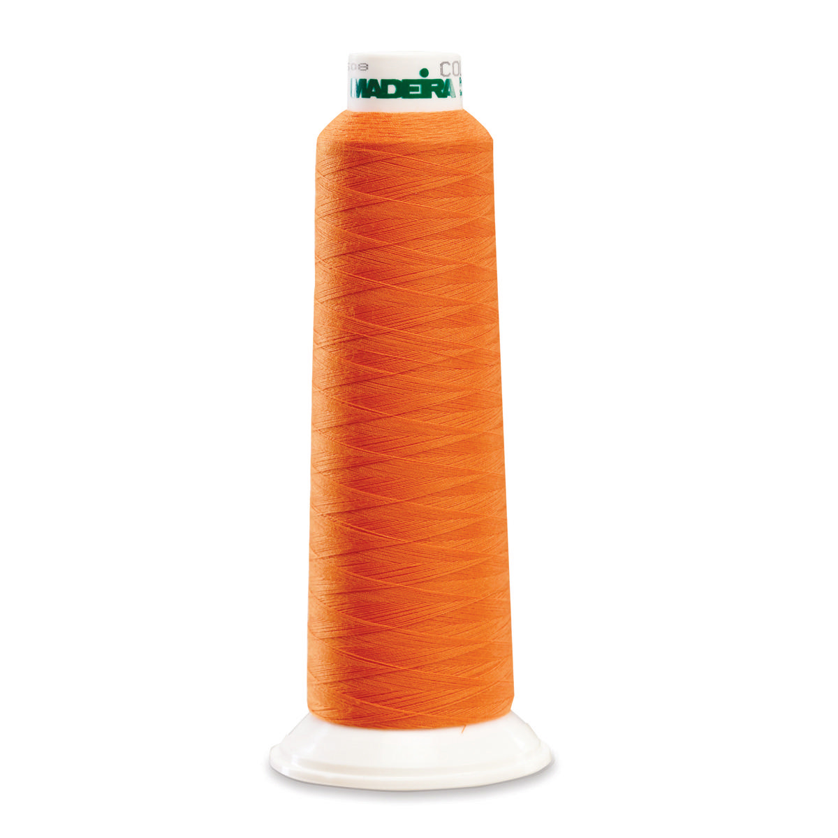 POLY ORANGE 2000YD SERGER THREAD MADEIRA AEROLOCK