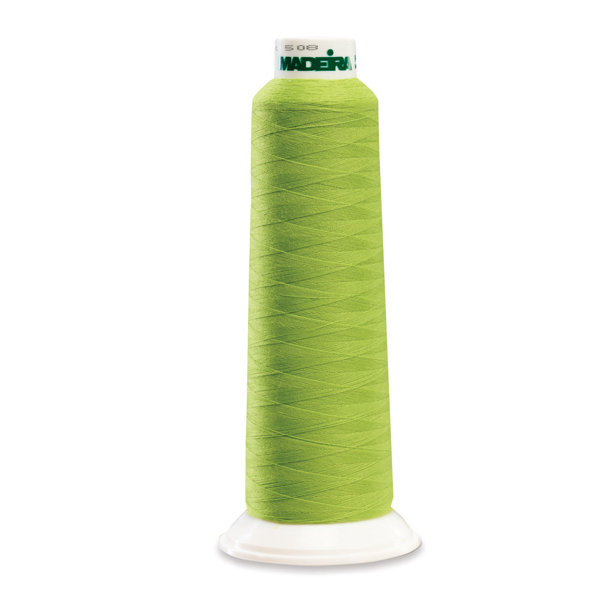 POLY SOUR APPLE 2000YD SERGER THREAD MADEIRA AEROLOCK
