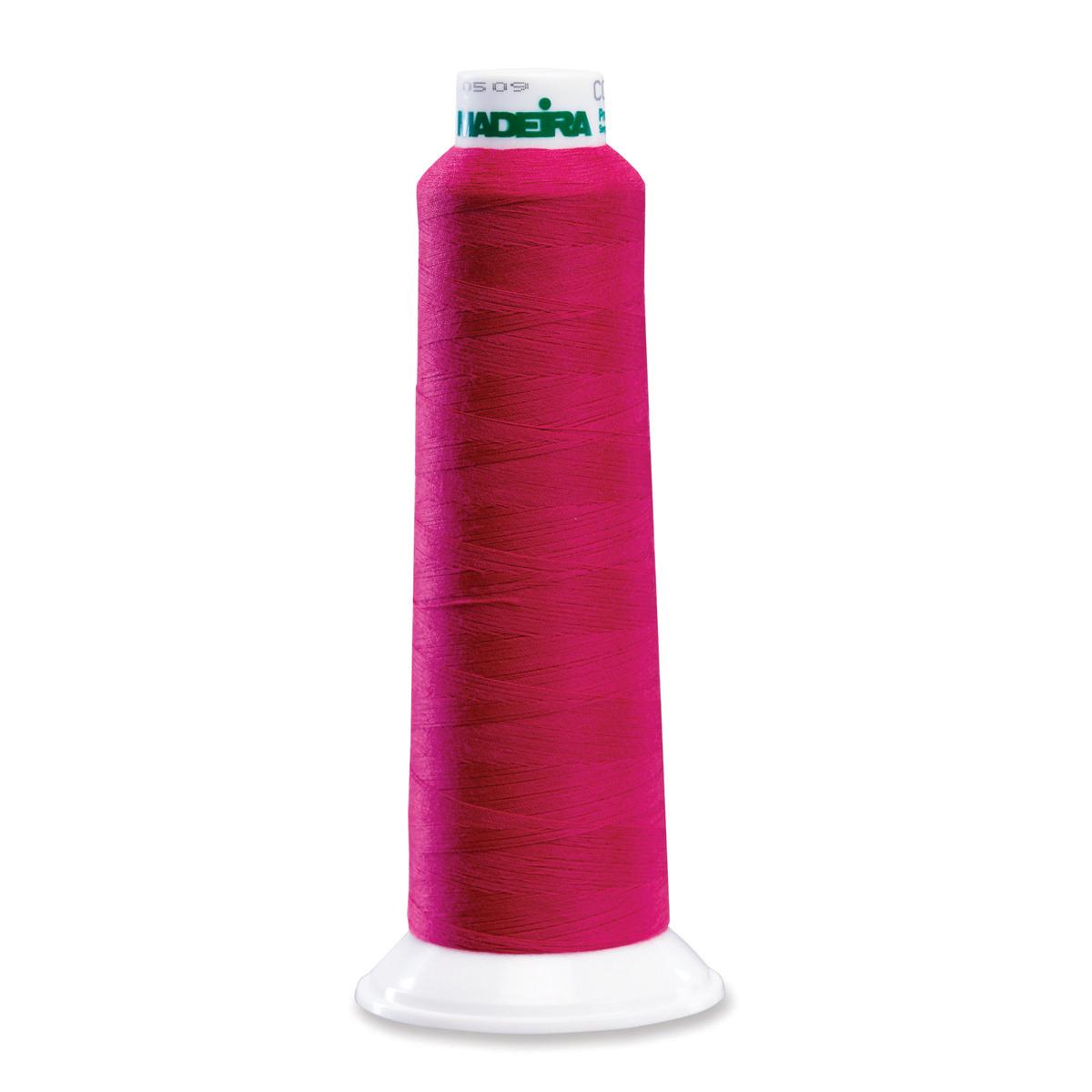 9100 Fushia Poly Serger Thread Madeira Aerolock