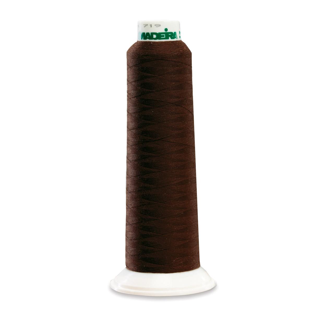 9290 Brown Poly Serger Thread Madeira Aerolock