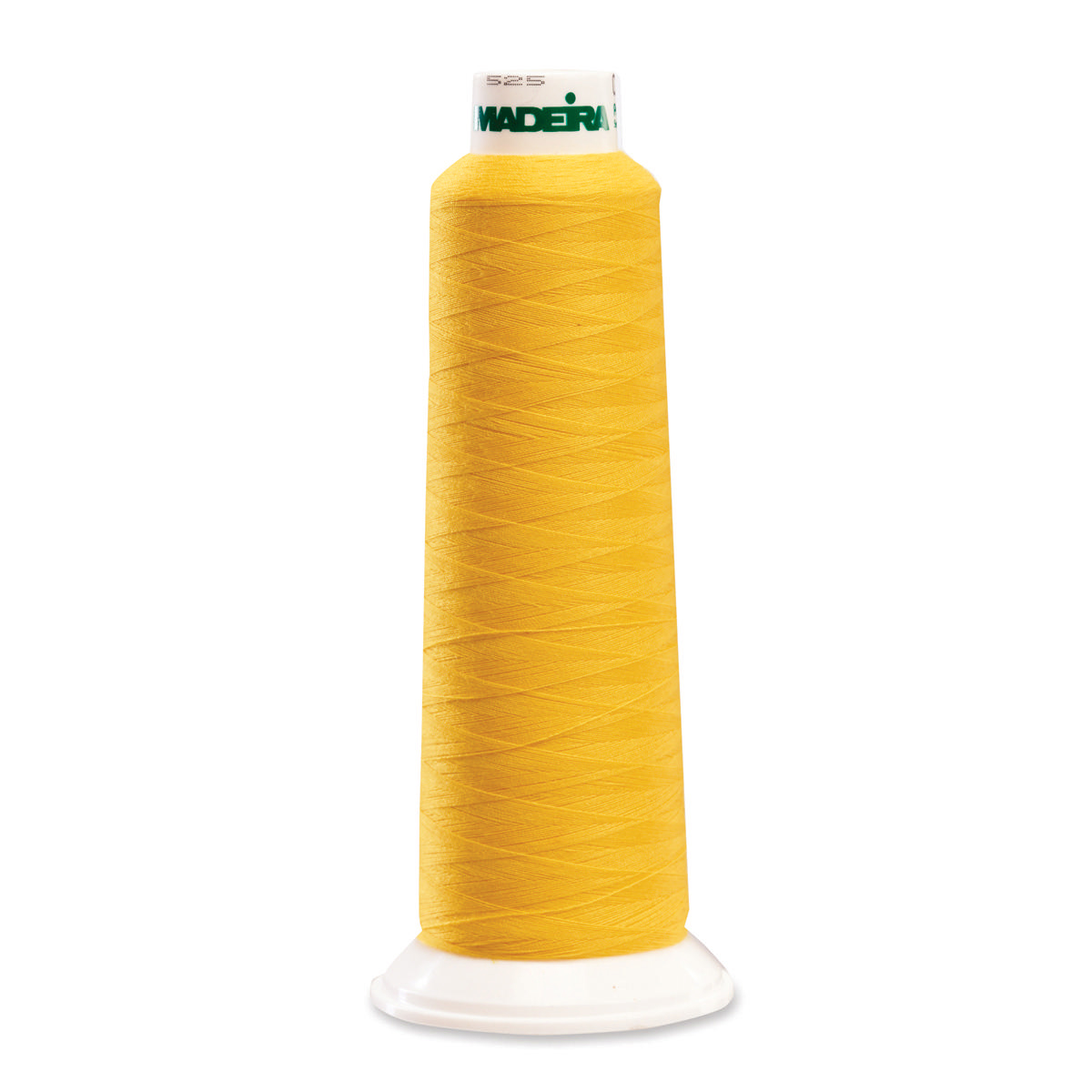 9360 Yellow Poly Serger Thread Madeira Aerolock