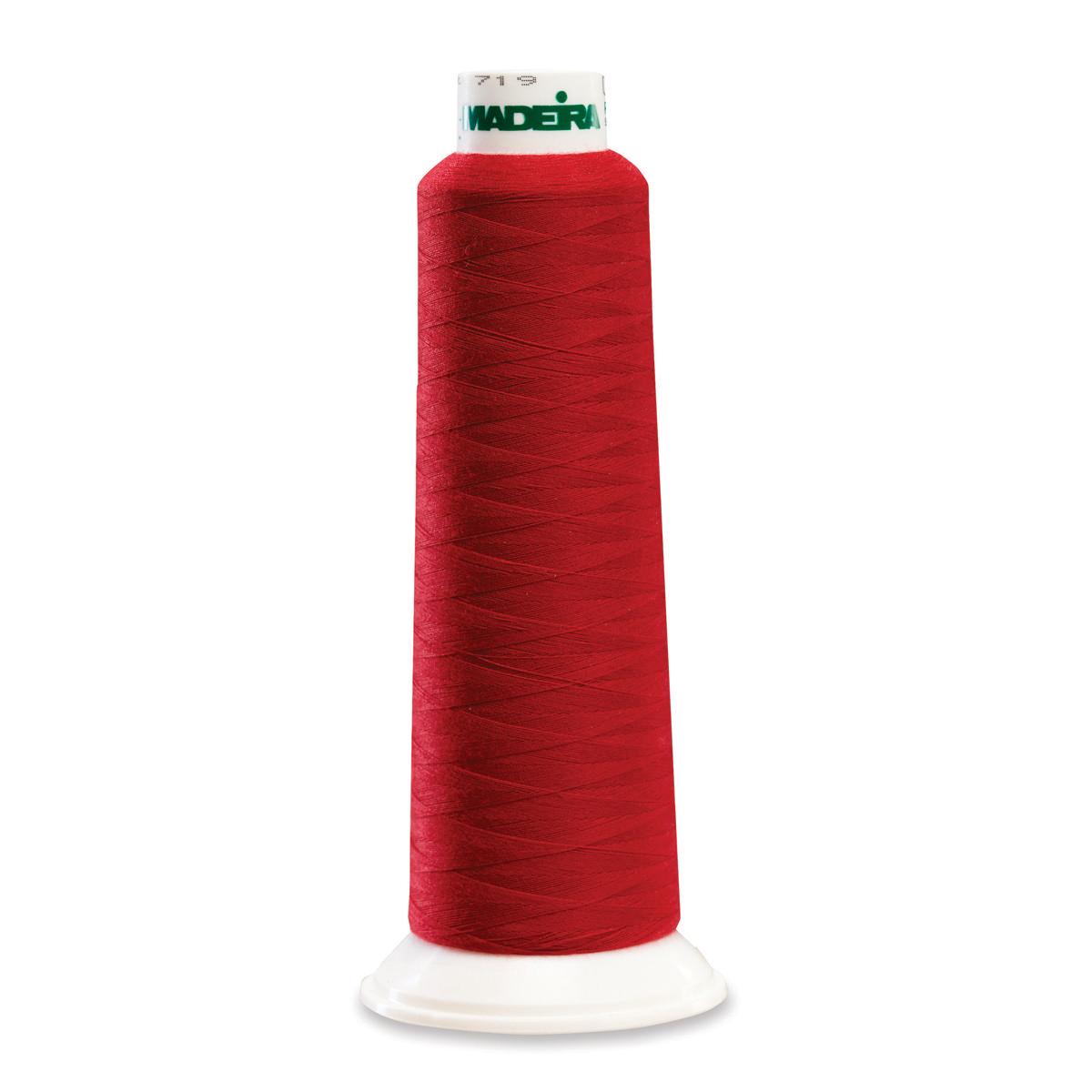 Deep Red 9470 Madeira Serger Thread