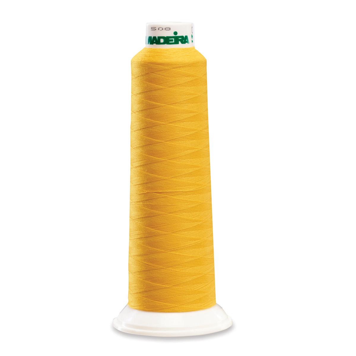 9951 Mustard Poly Serger Thread Madeira Aerolock