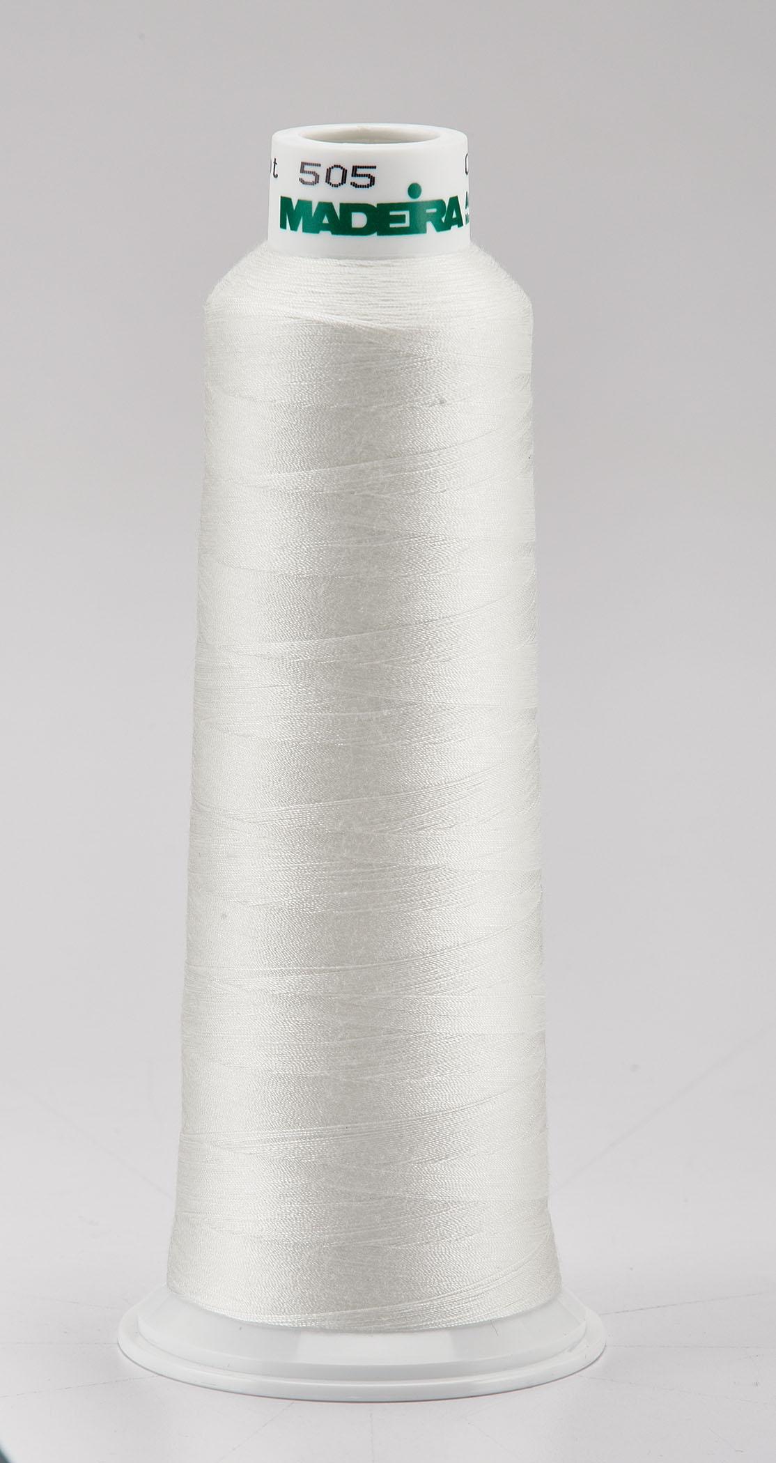 Madeira Eggshell Aeroquilt 3000 Yd Cone Poly Quilting Thread