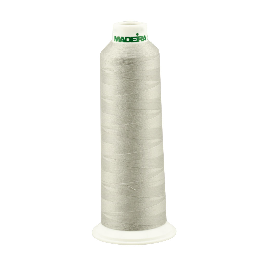 Madeira Light Grey Aeroquilt 3000 Yard Cone Poly Quilting Thread