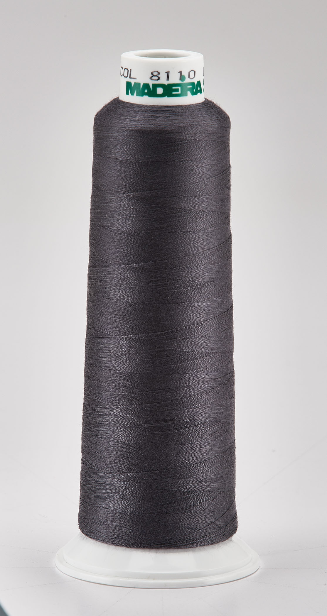 Madeira Graphite Aeroquilt 3000 Yd Cone Poly Quilting Thread