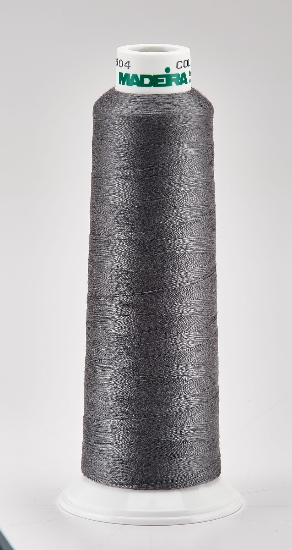 Madeira Steel Grey Aeroquilt 3000 Yd Cone Poly Quilting Thread