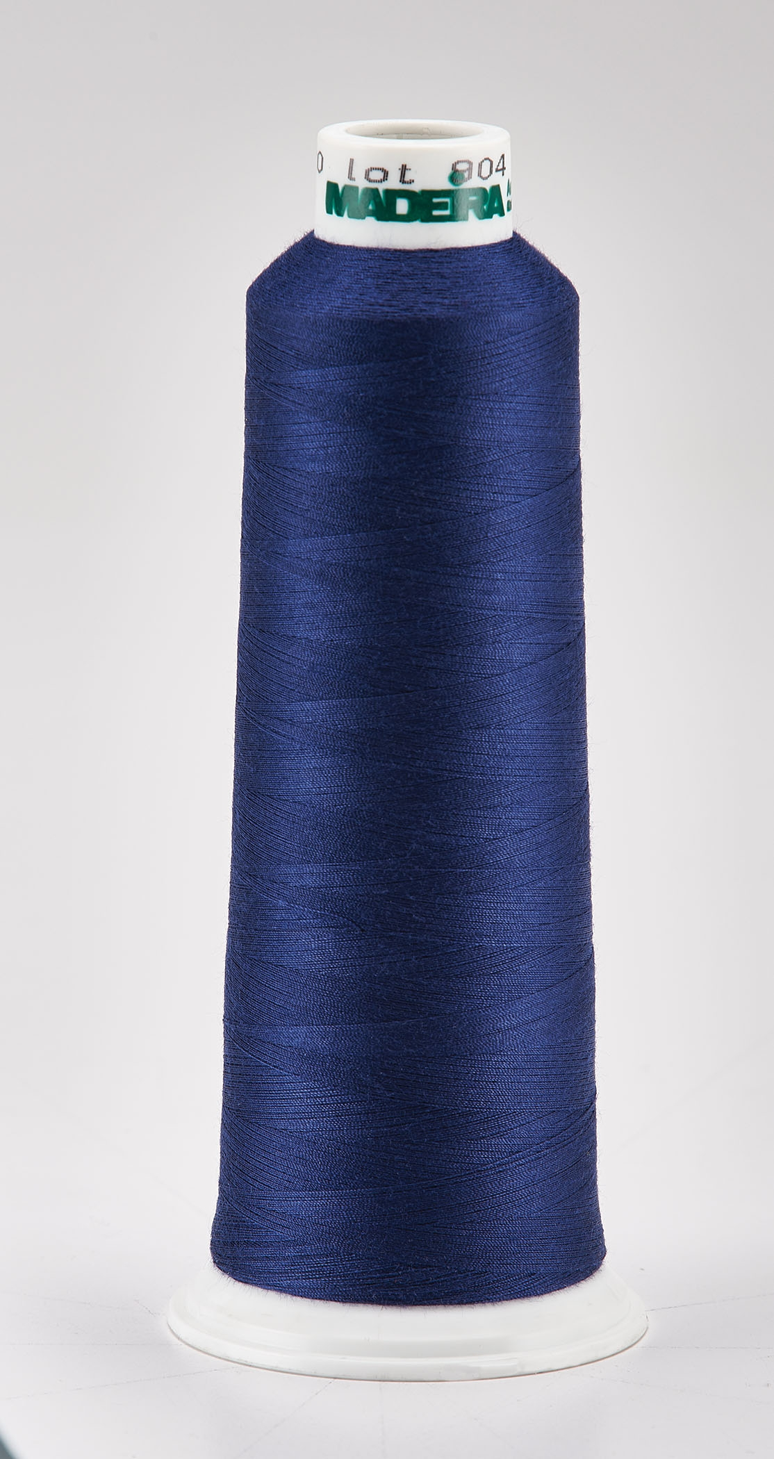 Madeira Blue Aeroquilt 3000 Yd Cone Poly Quilting Thread