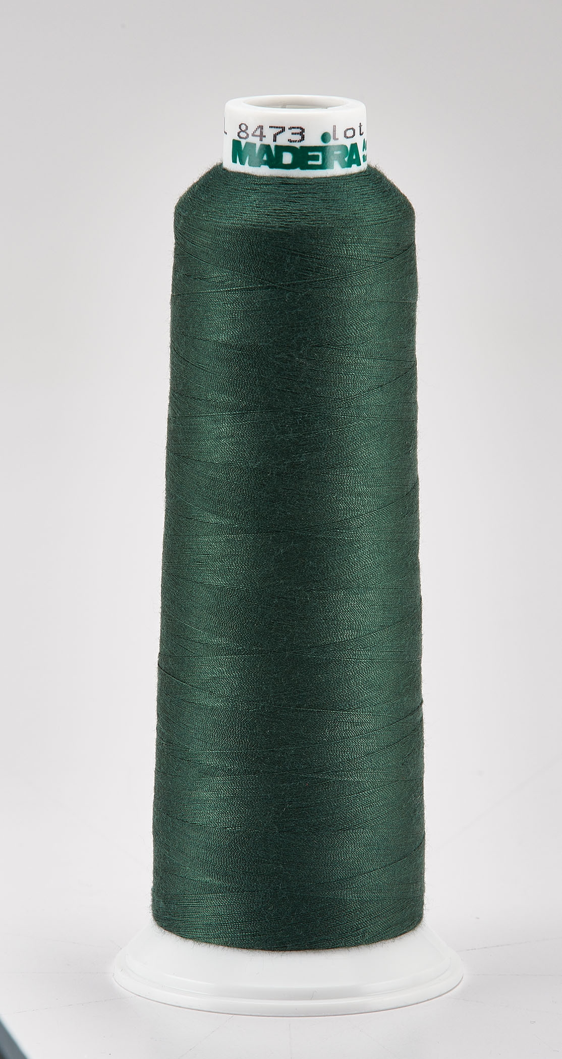 Madeira Emerald Green Aeroquilt 3000 Yd Cone Poly Quilting Thread