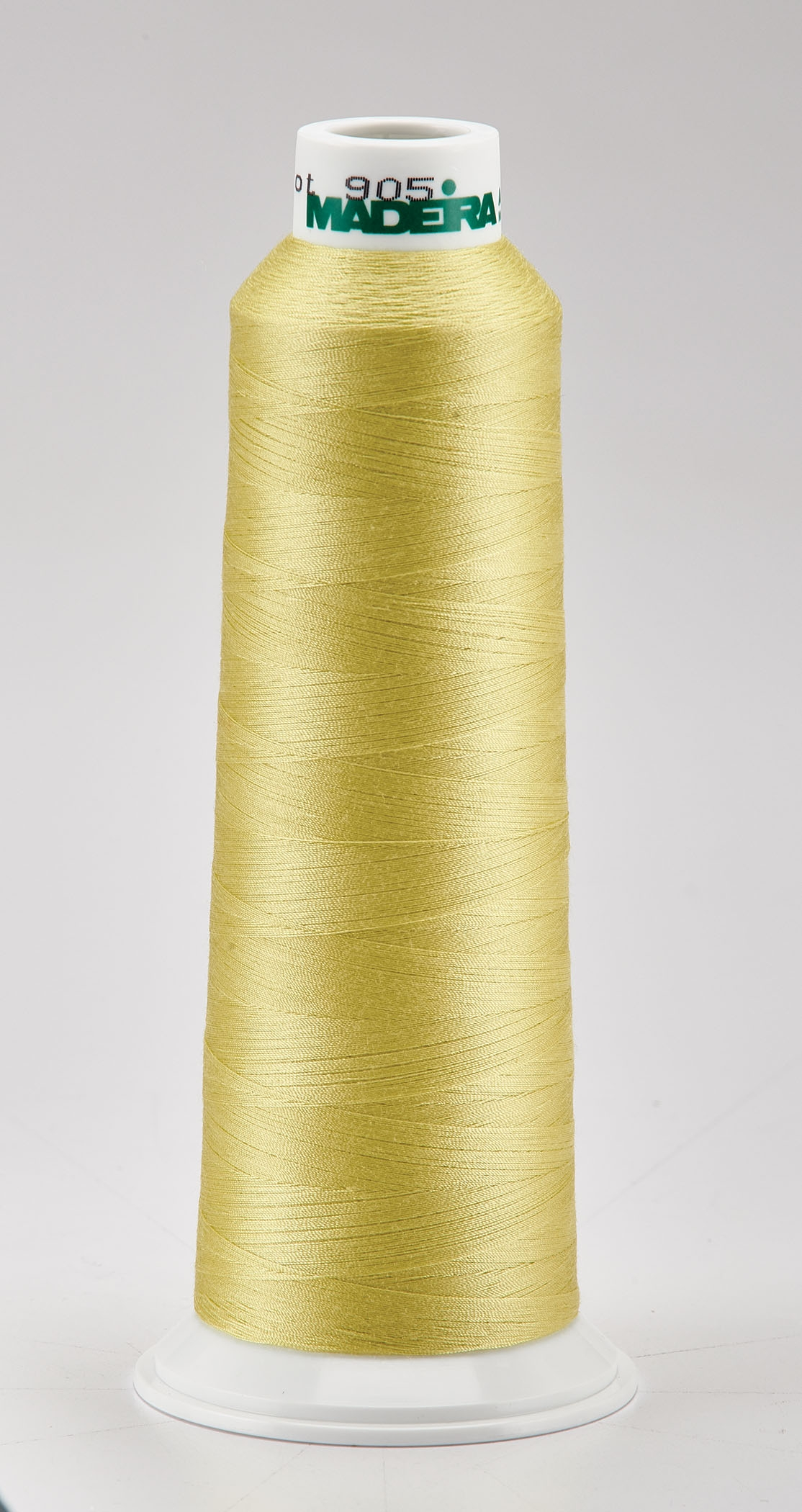Madeira Lemon Aeroquilt 3000 Yd Cone Poly Quilting Thread