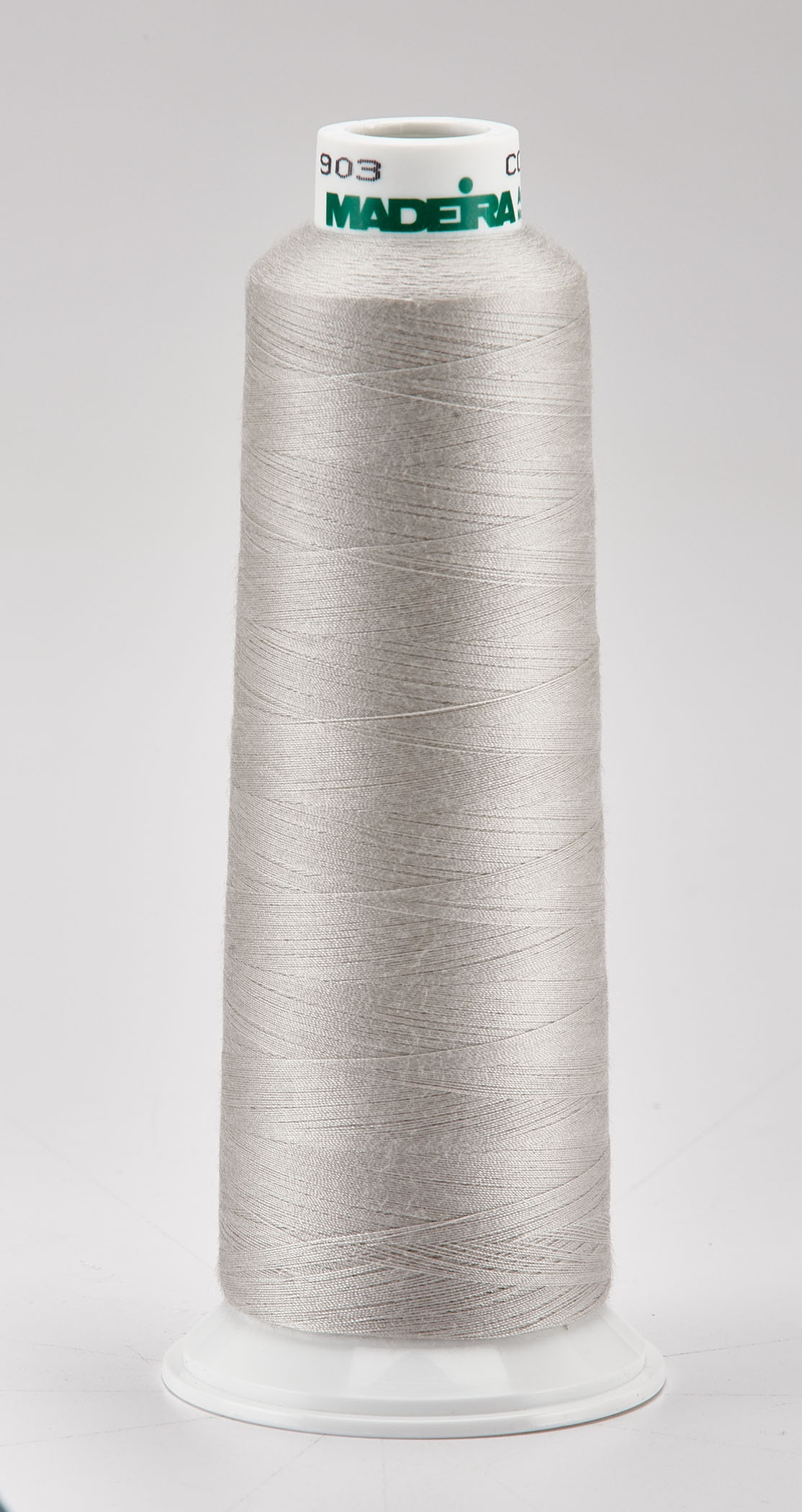 Madeira Silver Aeroquilt 3000 Yd Cone Poly Quilting Thread