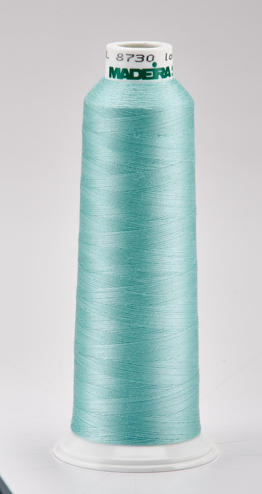 Madeira Turquoise Aeroquilt 3000 Yd Cone Poly Quilting Thread