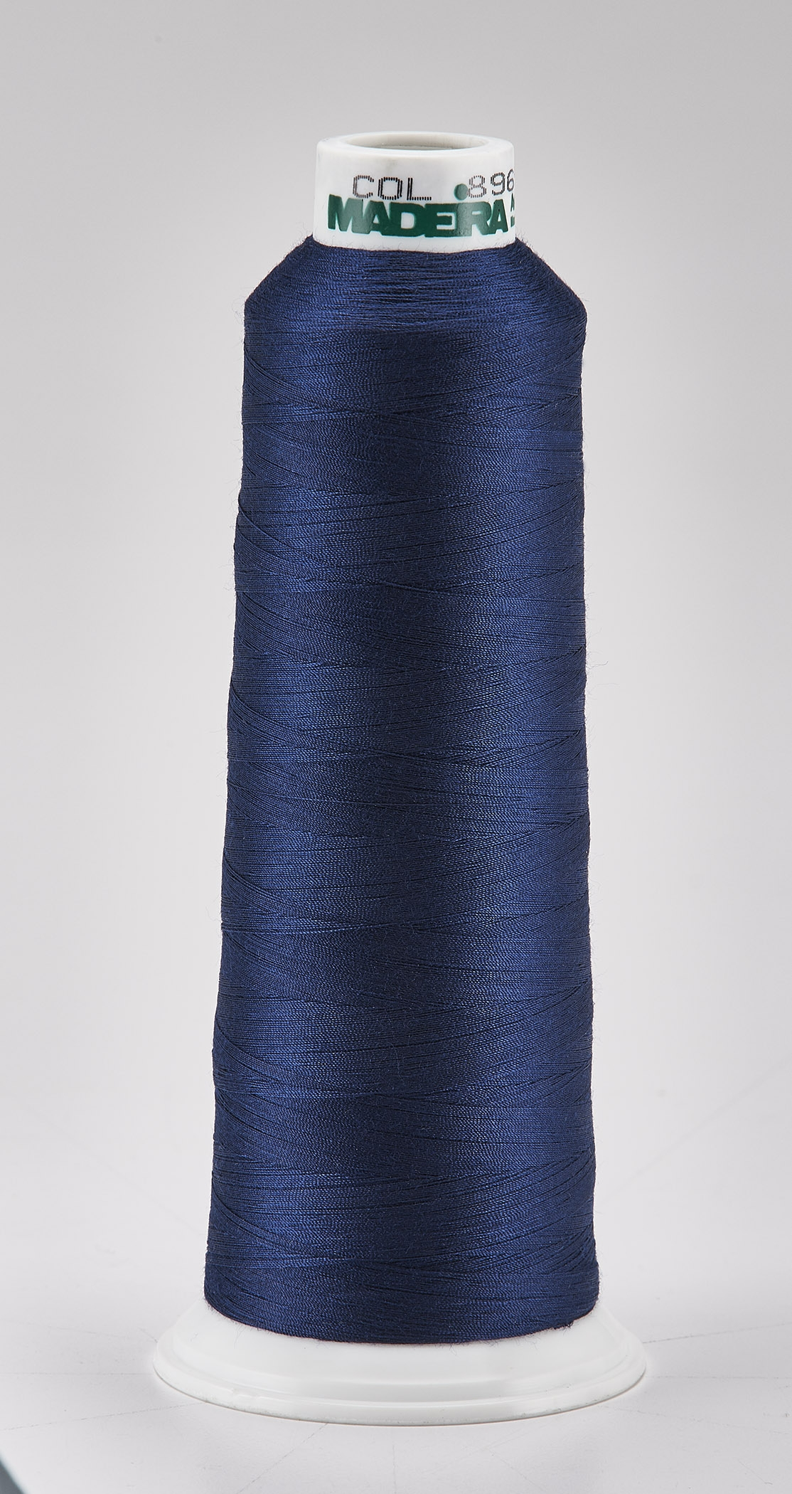 Madeira Navy Aeroquilt 3000 Yd Cone Poly Quilting Thread