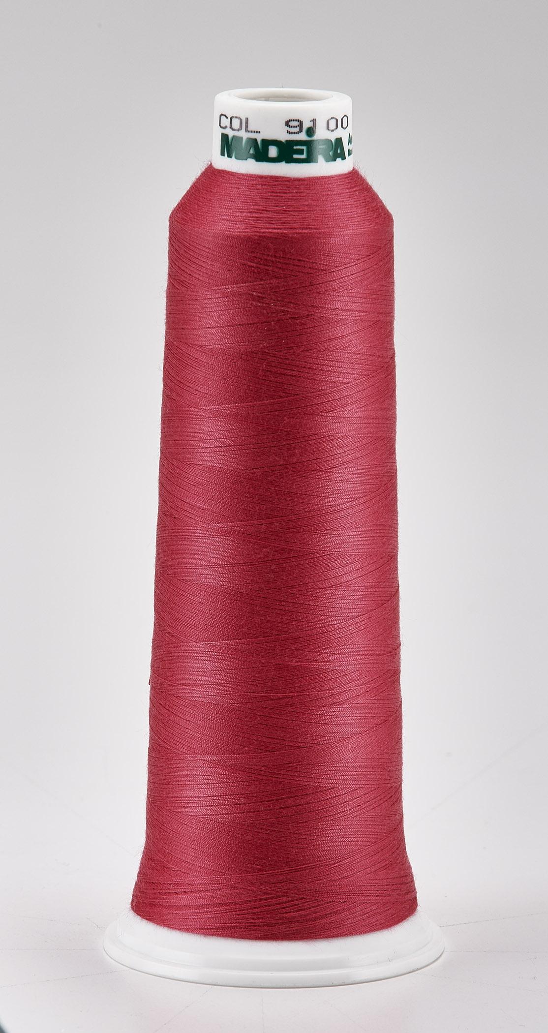 Madeira Fuchsia Aeroquilt 3000 Yd Cone Poly Quilting Thread