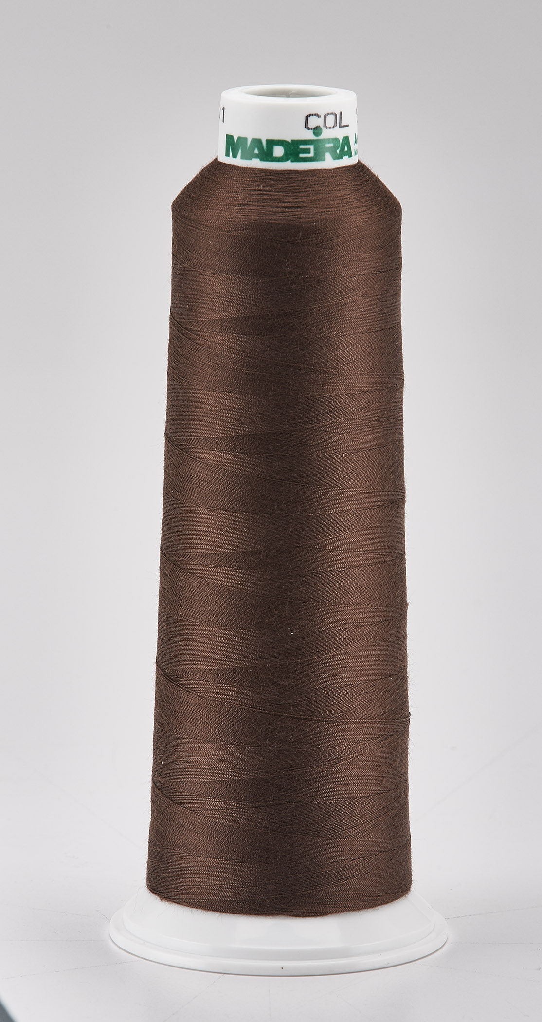 Madeira Brown Aeroquilt 3000 Yd Cone Poly Quilting Thread