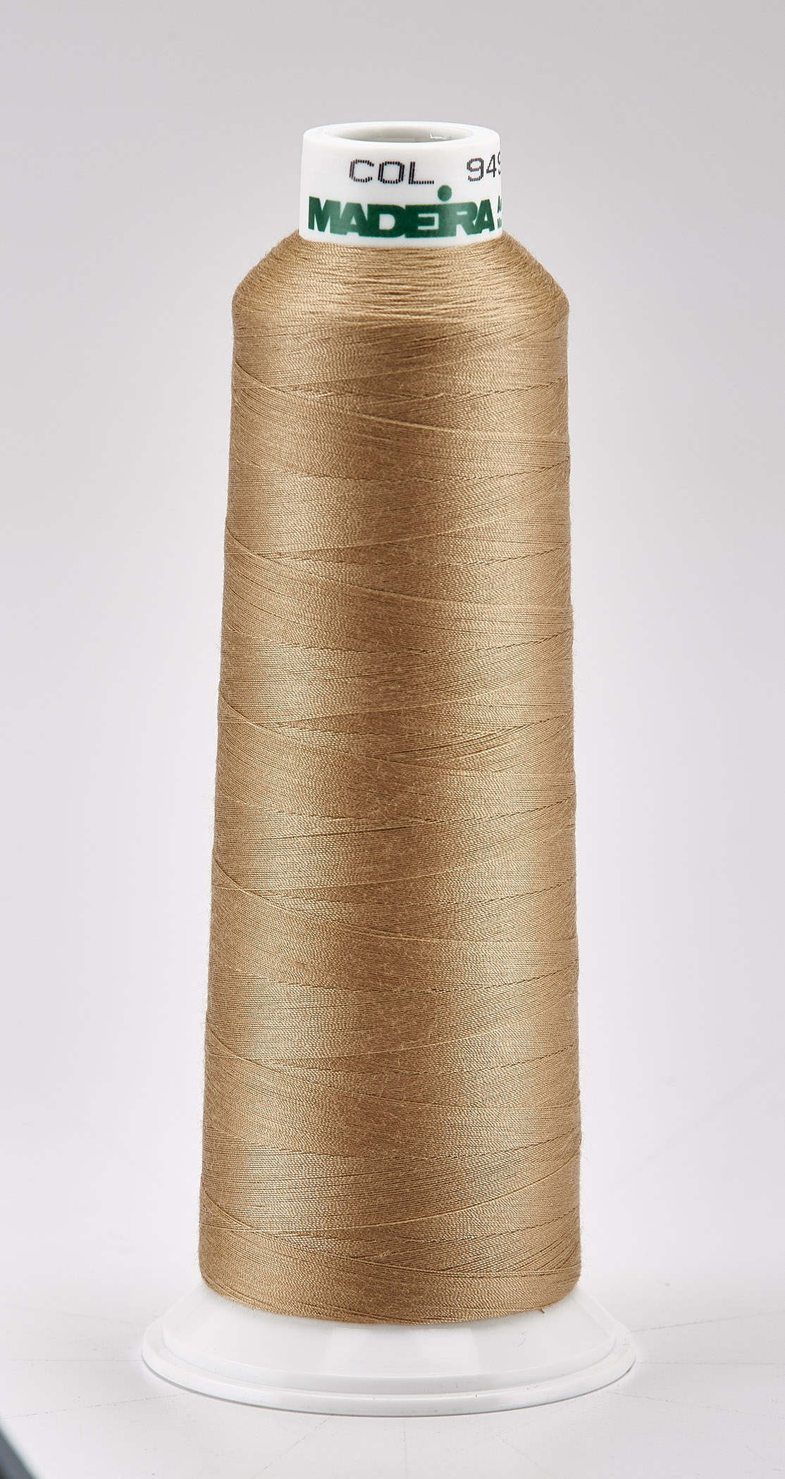 Madeira Sandstone Aeroquilt 3000 Yd Cone Poly Quilting Thread
