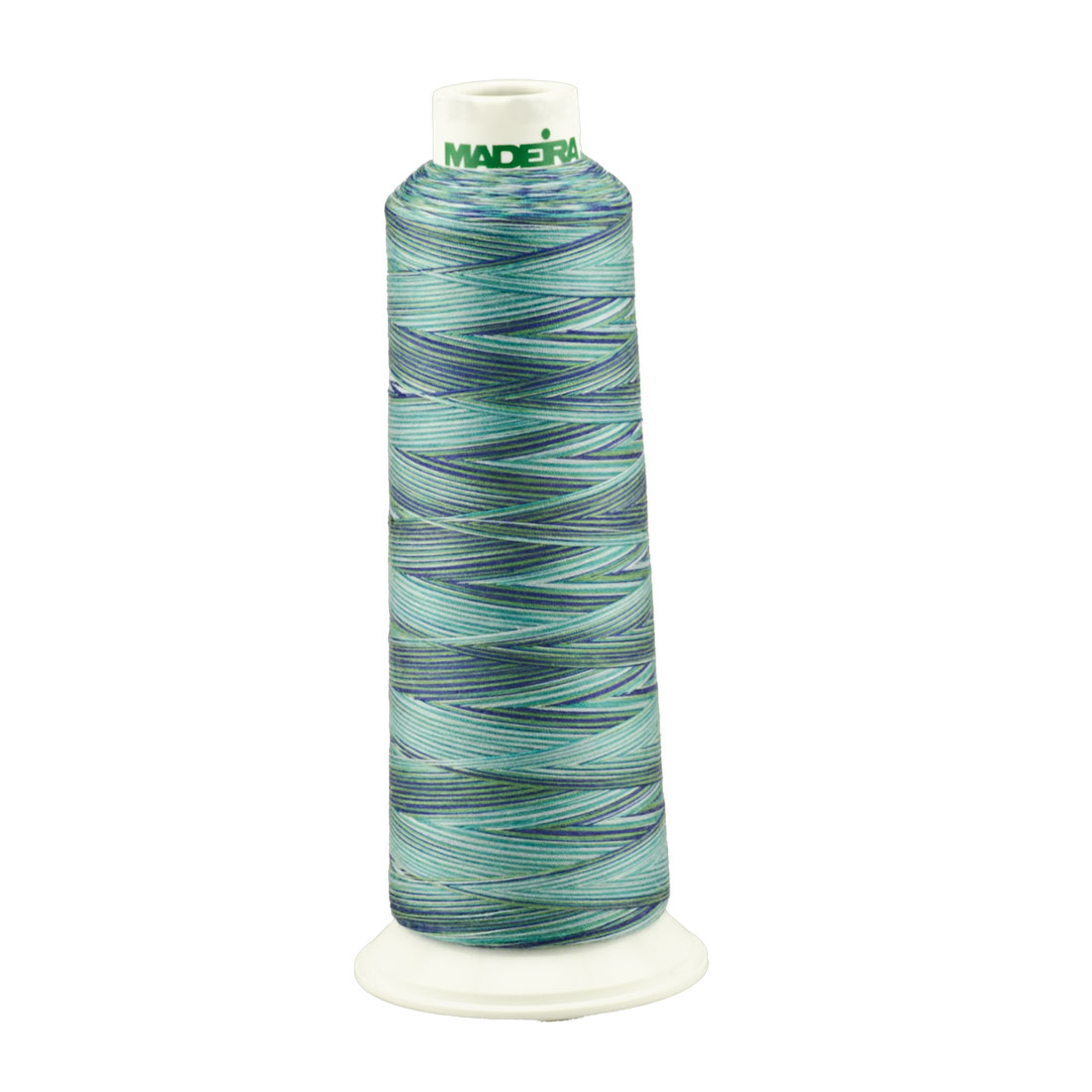 Madeira Ocean Aeroquilt 3000 Yard Cone Variegated Poly Quilting Thread