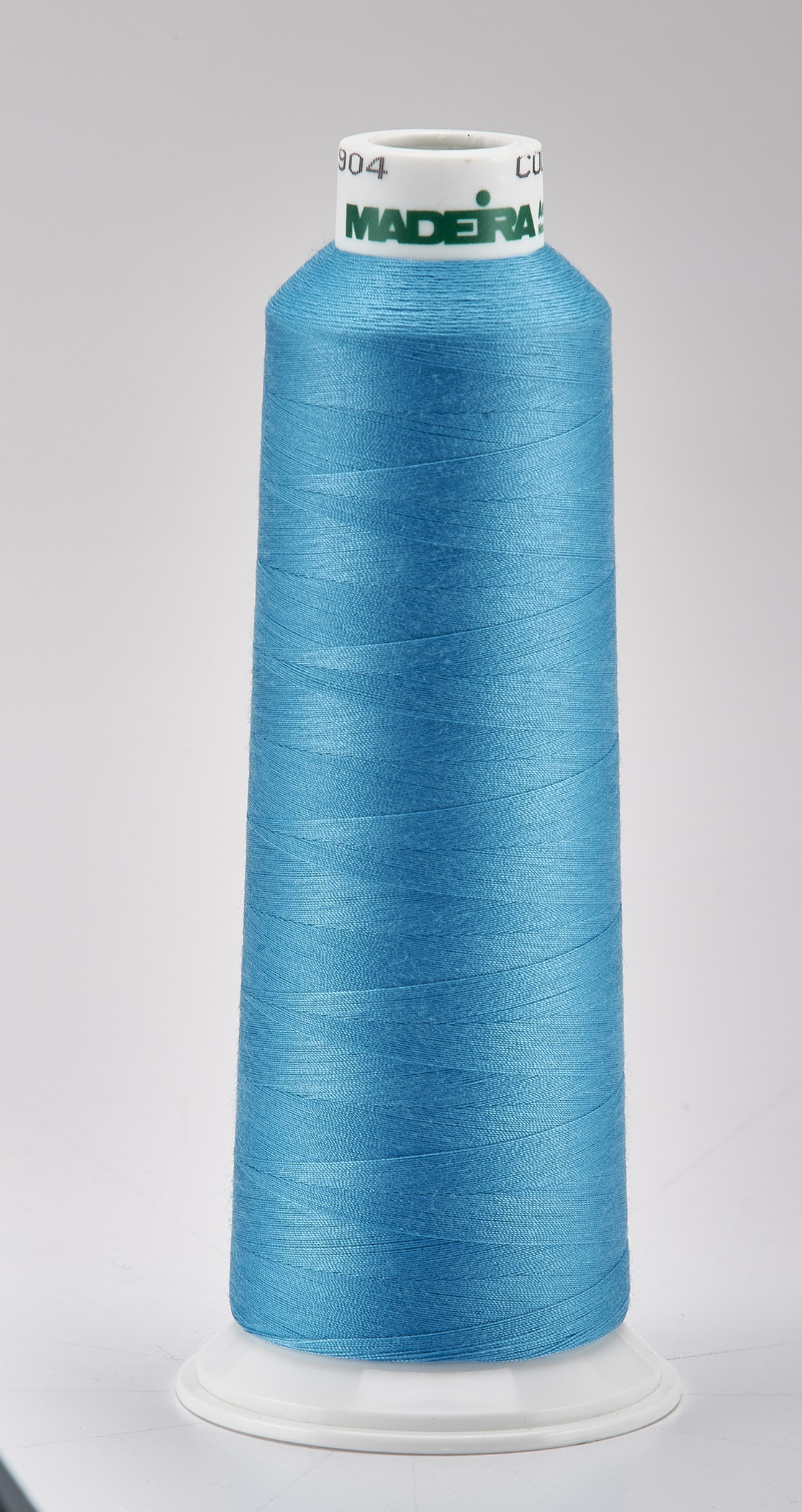 Madeira Bright Turquoise Aeroquilt 3000 Yd Cone Poly Quilting Thread