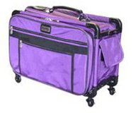 TUTTO Monster Machine on Wheels XL Luggage Purple