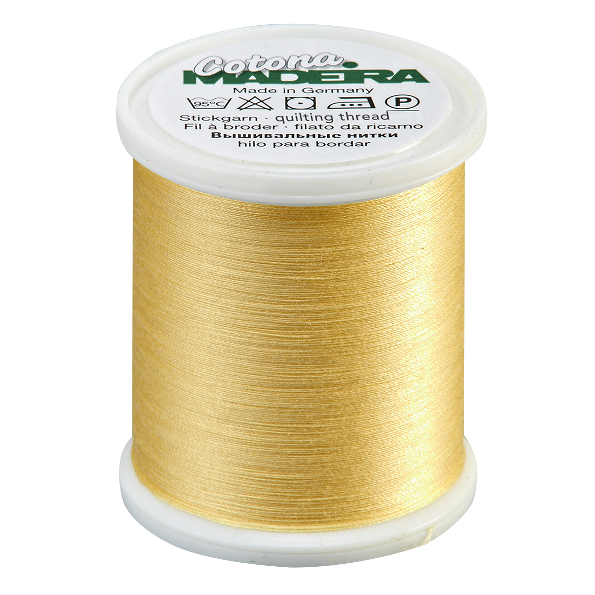 Cotona Thread Pale Yellow 50wt.