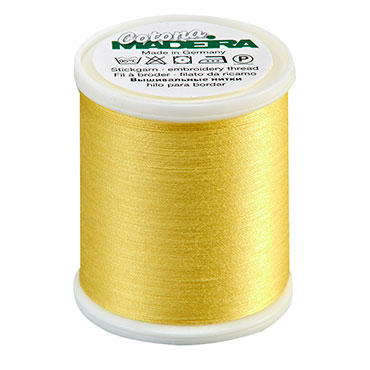 Cotona Thread Lemon Yellow 50wt.