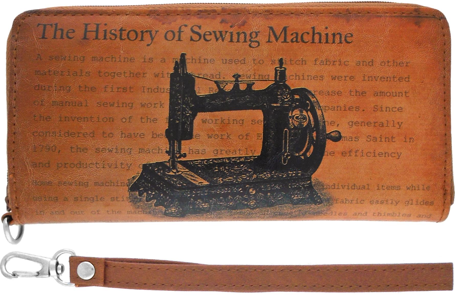 Sewing Machine Wallet