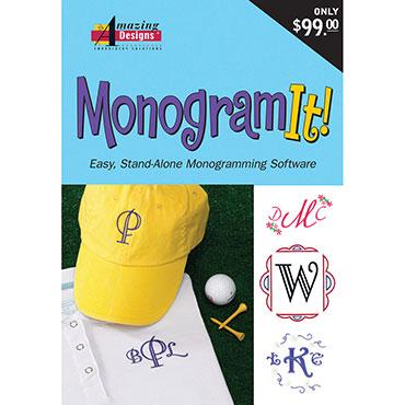 Monogram It! -Amazing Designs Software