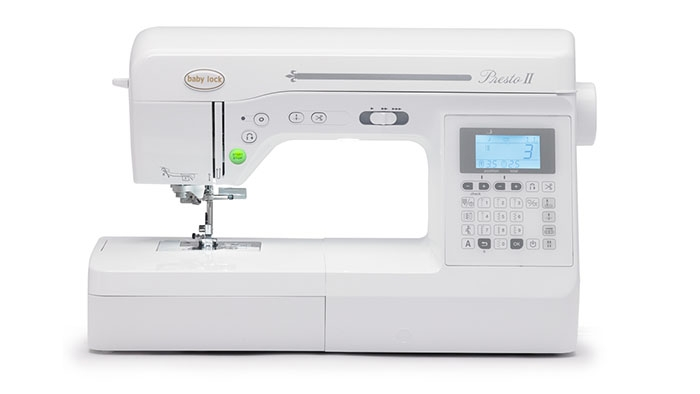 Babylock Presto II Sewing Machine