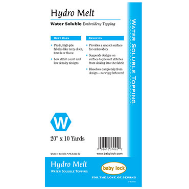 Hydro-Melt Soluble Topping 20