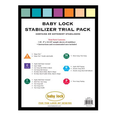 BABYLOCK STABILIZER TRIAL PACK SAMPLER
