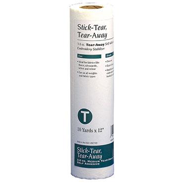 Stick-Tear Tear-Away