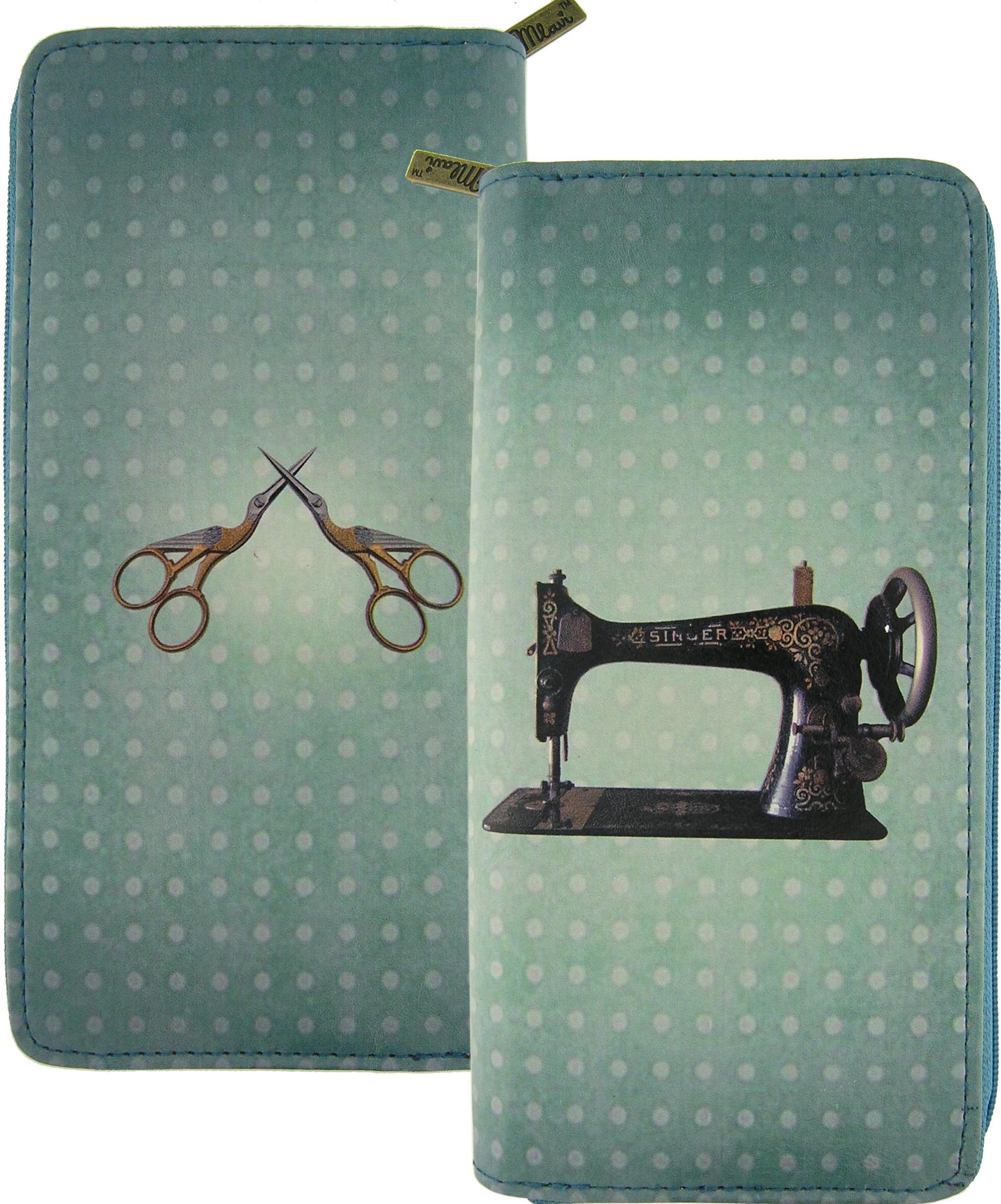 Sewing Machine/Scissor Wallet