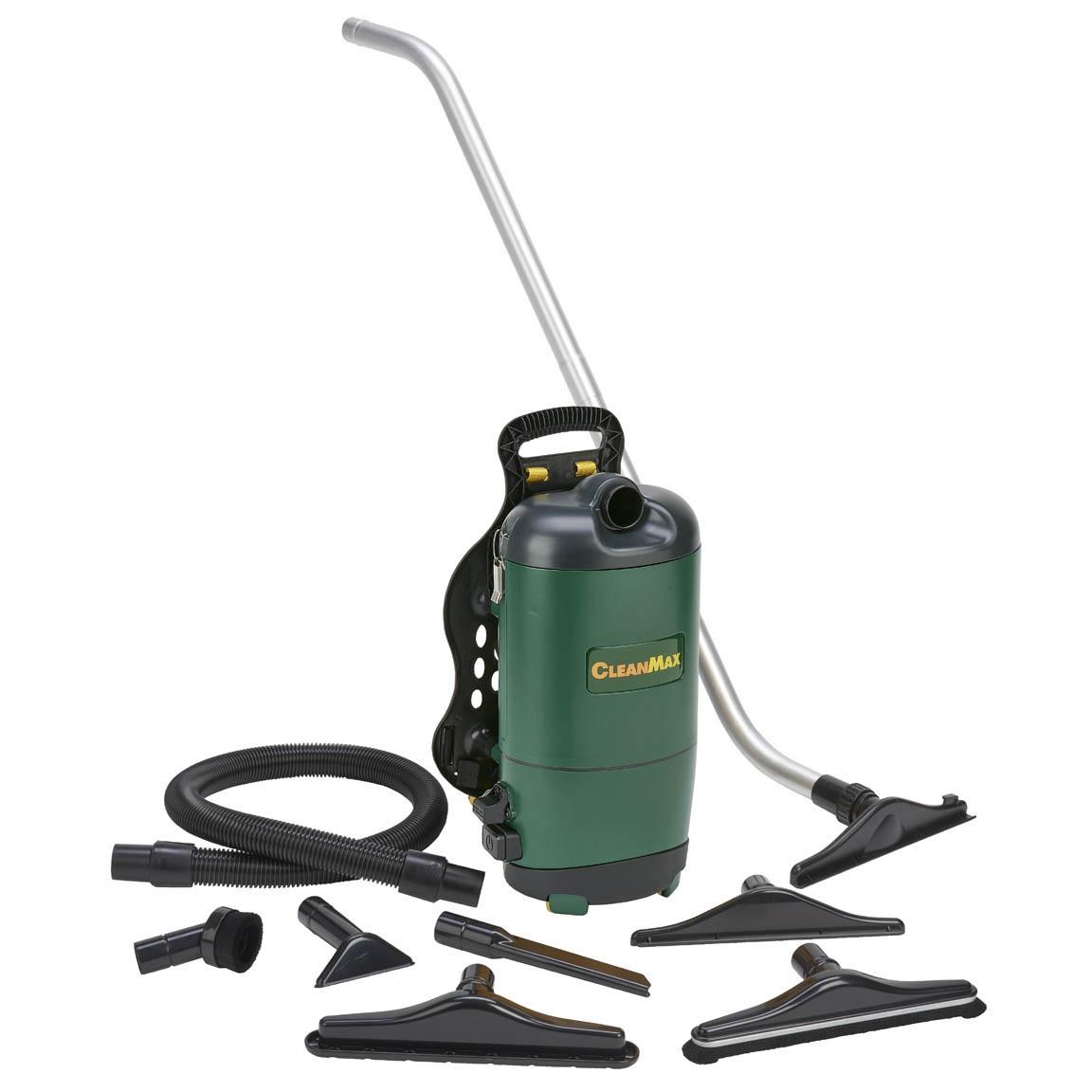 Cleanmax Backpack Vacuum 6qt