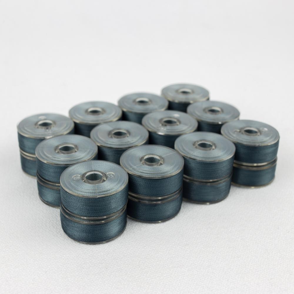 Wonderfil DecoBob 315 Metal Blue Prewound Bobbins Size M - 24 Pack 210 yd