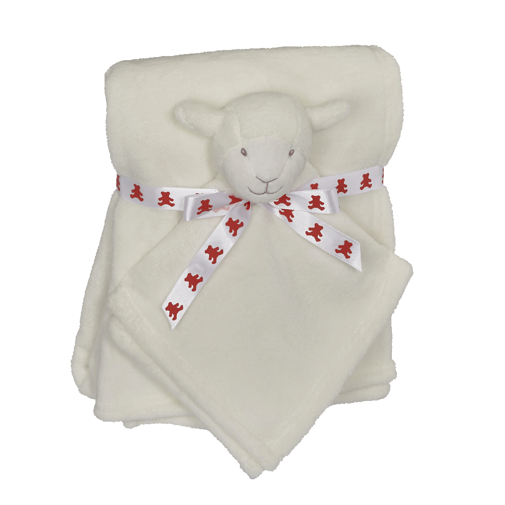 Embroider Buddy Blankey Set - Lamb