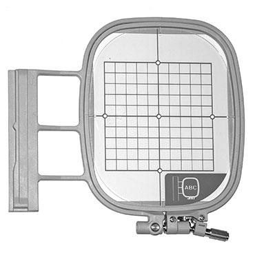 4 X 4 EMBROIDERY HOOP & GRID MEDIUM BABYLOCK EF74