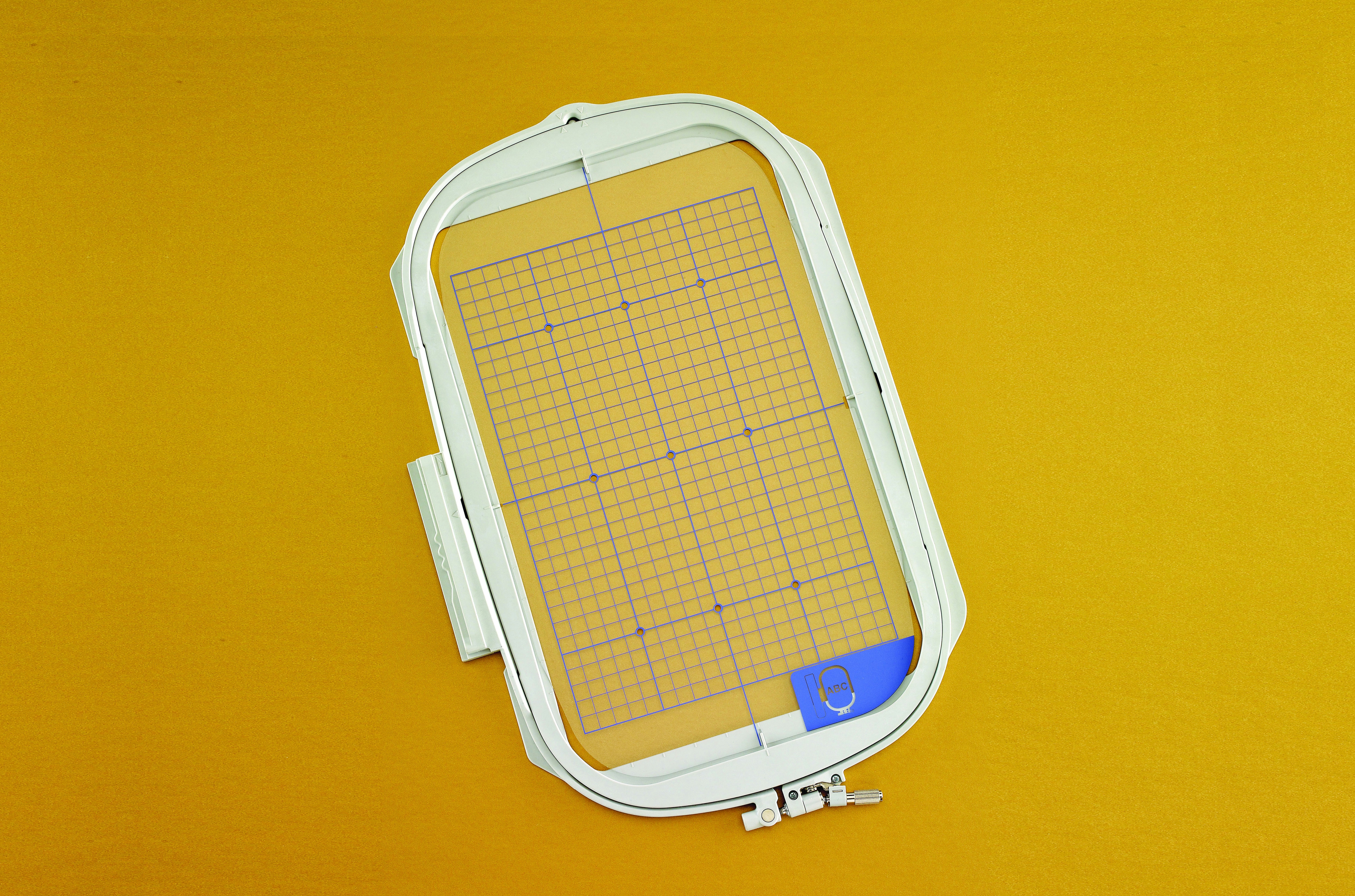 8 X 12 EMBROIDERY FRAME WITH GRID BLSO 300MM X 200MM