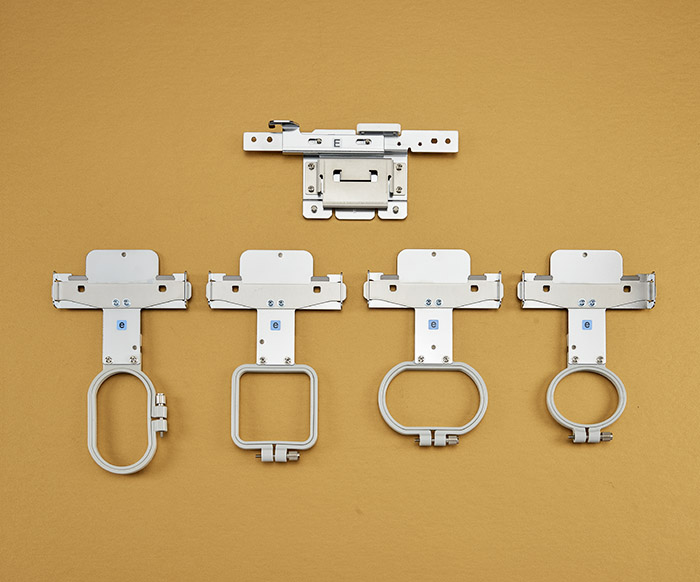 Compact Frame Set or BMV10 Babylock Arm E and 4 frames