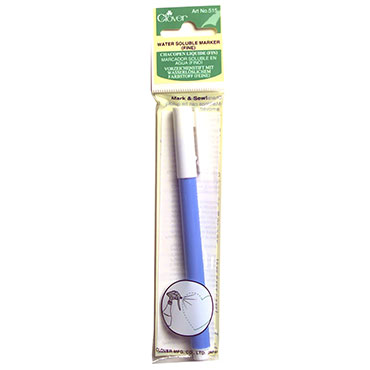 Clover Water Soluble Marker Fine Point blue