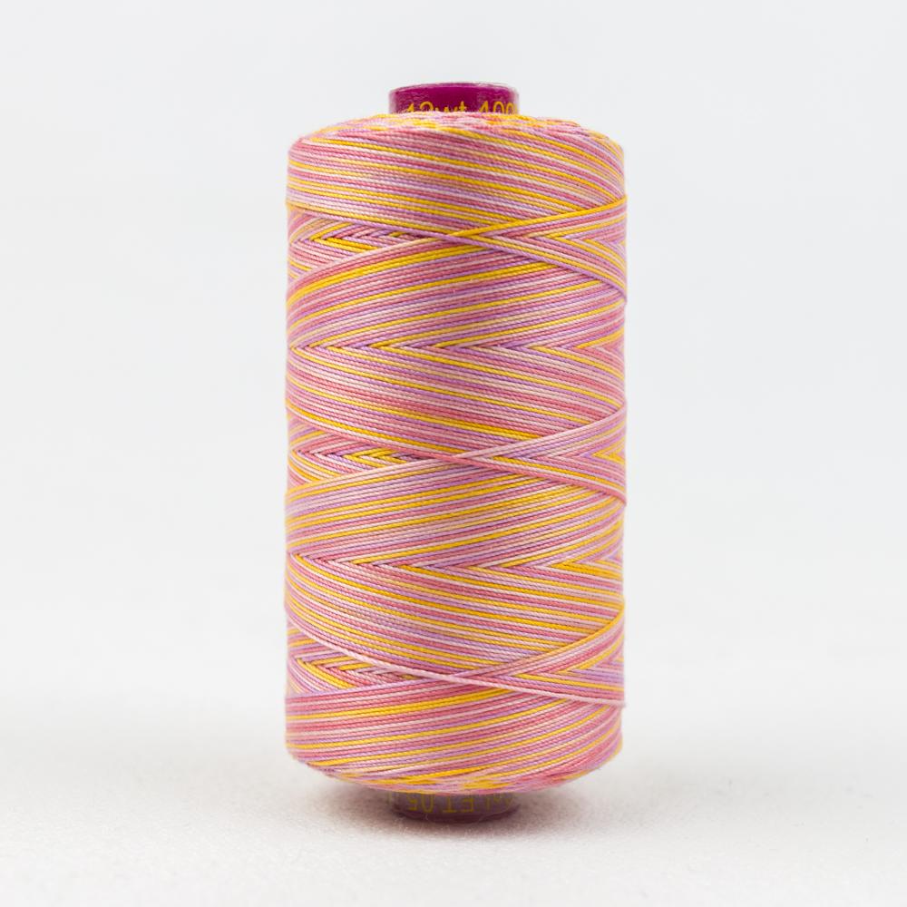 Fruitti 12wt Cotton Thread 433yd - Pansy