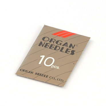 Organ Chrome Plated Needle 15X1 10 Pk 90/14