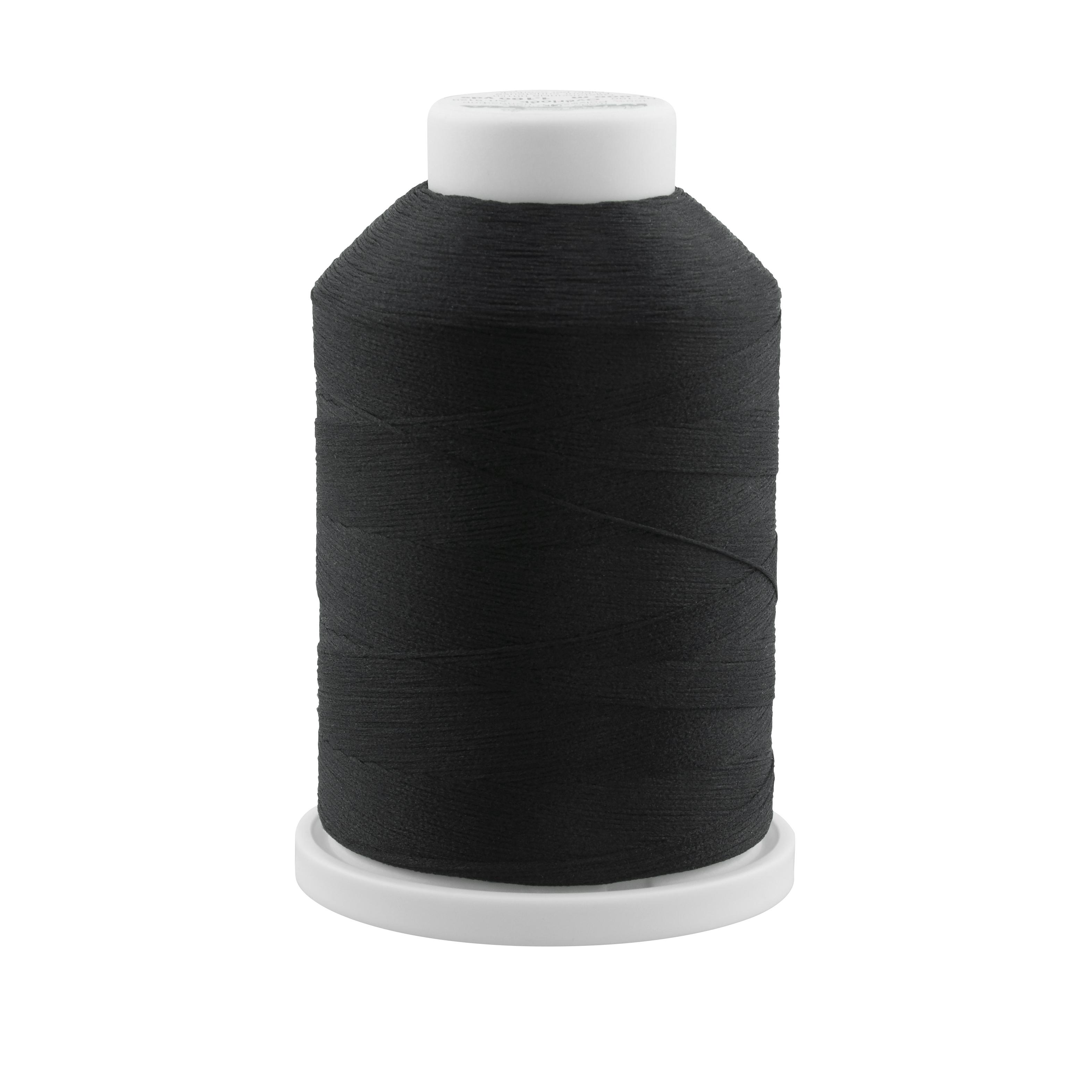 8000 Black Madeira AeroFlock Thread 1000m