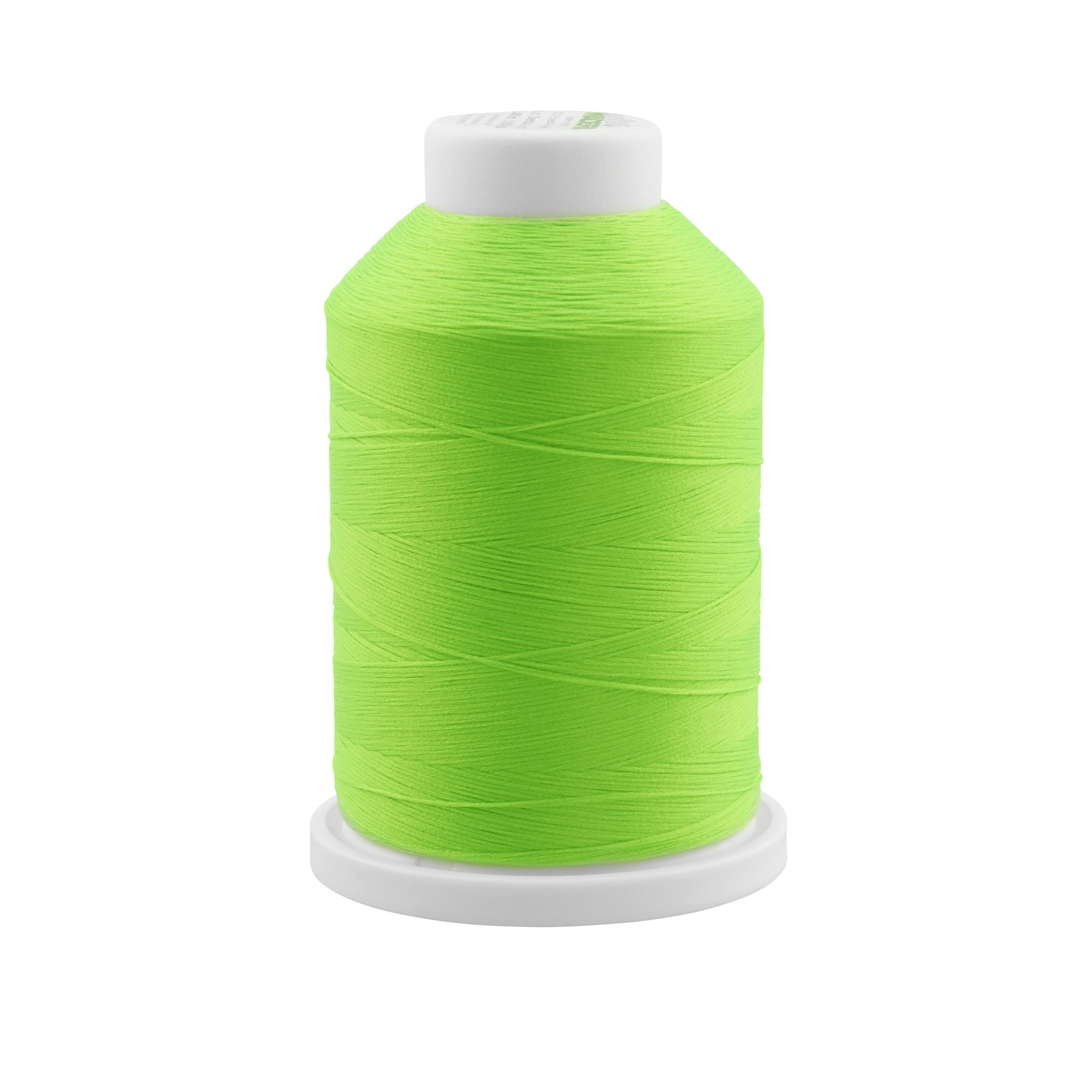 9950 Neon Green Madeira Stretch AeroFlock Thread 1000m