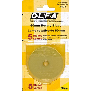 OLFA 60MM Refill Blade Pack Of 5