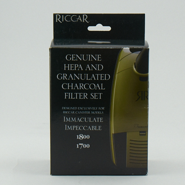 Riccar 1700/1800/Immac/Impec Hepa and Granulated Charcoal Filters