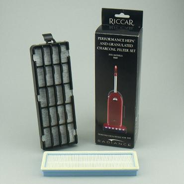 Riccar RAD HEPA Media & Granulated Charcoal Filter Set