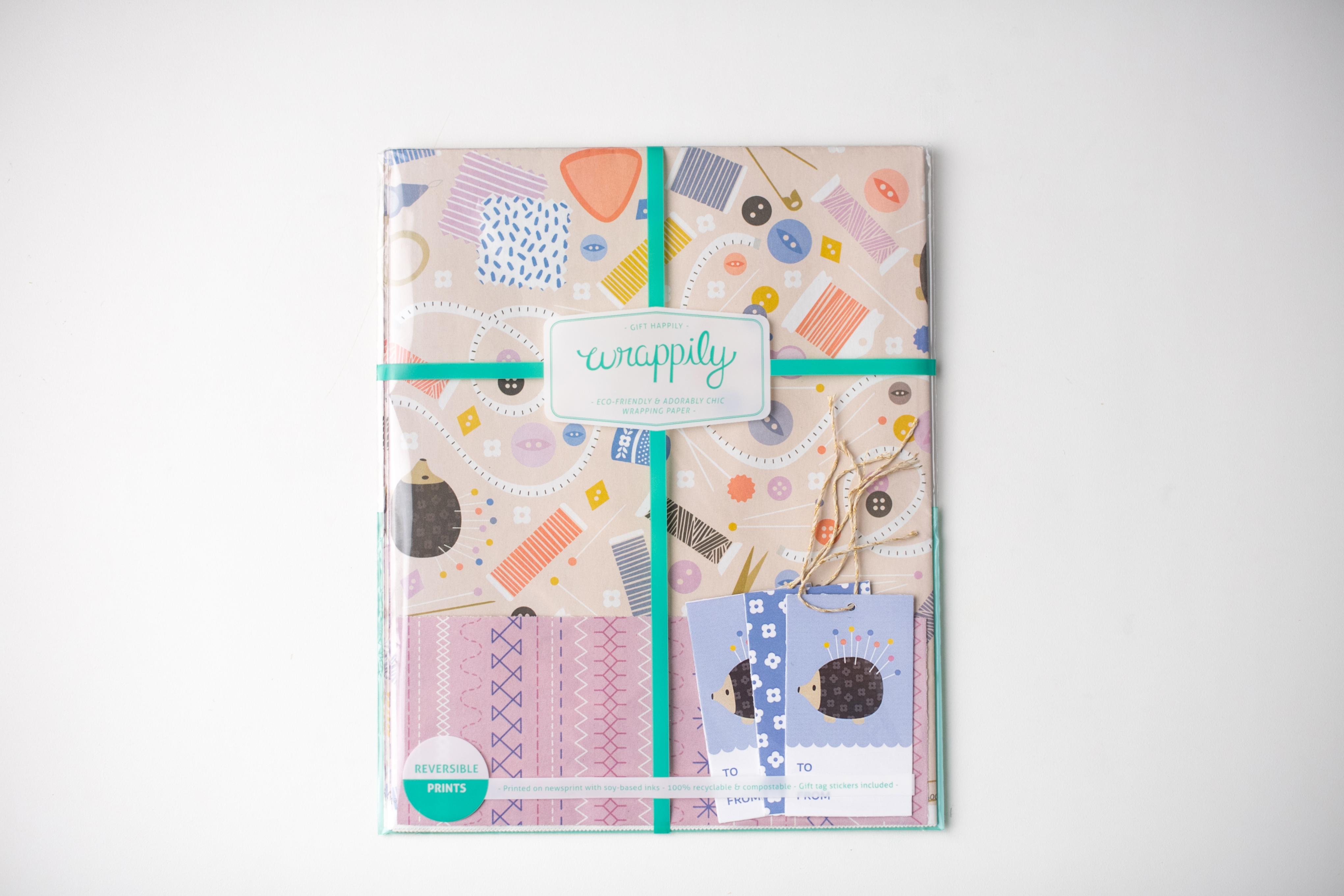 Sewing Gift Wrap Set