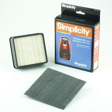 Simplicity HEPA Secondary Filter Set - Part No. SF-18